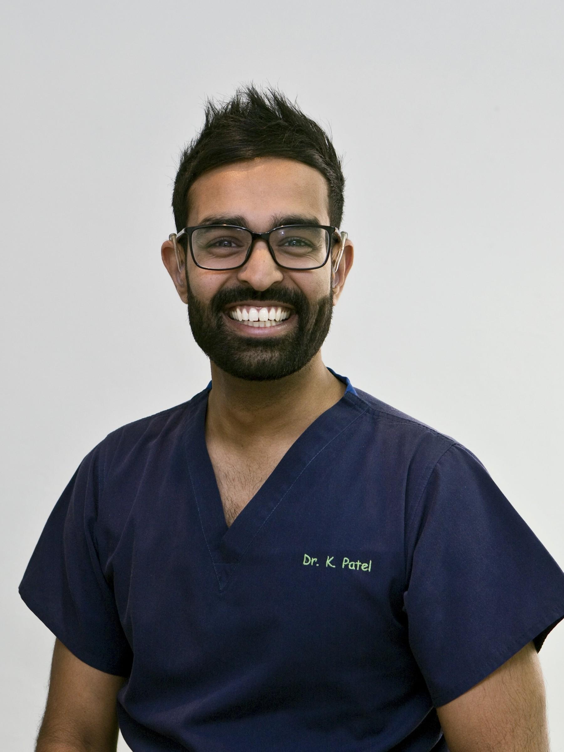 Kunal Patel the principle dentist at Etwall Dental practice